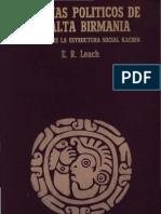 Leach - Sistemas Politicos de La Alta Birmania