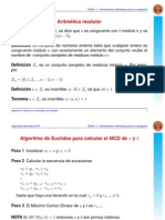 Aritmetica Modular, Teo Chino y Otros