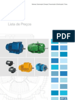 Lista de Preços 2011- Motores