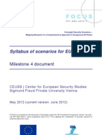 FOCUS Syllabus of Scenarios for EU Security Roles 2035