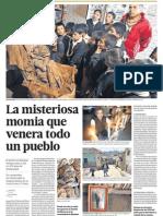Pueblo de Peru venera a Momia