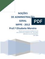 Administracao Geral_Aulas 01e02_Tribunais 3 Em 1_Prof Bete Moreira