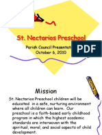 St. Nectarios Preschool Presentation