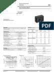 ENG DS OMI 2 Pole Series Relay Data Sheet E 0411