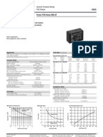 ENG DS OMI 2 Pole Series Relay Data Sheet E 0411