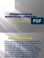 mass spectroscopy and raman spectroscopy.