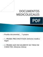 Medicia Legal Documentos Medico Legales