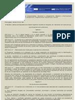 Ley 24004 Ejercicio de La Enfermeria