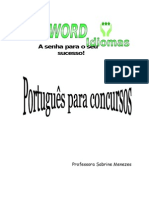 Apostila de Português para concursos PASSWORD