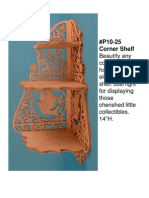 DP10-25 Corner Shelf