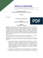 Ley Contra La Corrupcion - 5.637 E