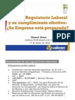 Entorno Regulatorio Laboral