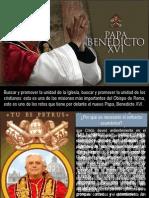 16. Ecumenismo Benedicto Xvi Juan Manuel