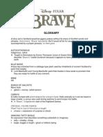 BRAVE Scottish Glossary