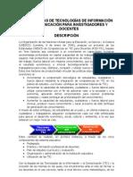 HERRAMIENTAS DE TECNOLOGÍA DE AVANZADA PARA DOCENTES E INVESTIGADORES