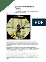 Advierten Que El Counter Strike Es Violento y Adictivo