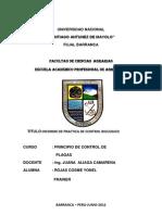 Informe de Practica de Control Biologico