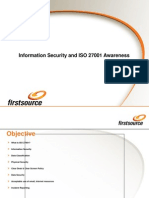 Information Security and ISO 27001 Awareness