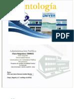 Antologia de Administracion Publica CIA0632 Vespertino VI Cuatri. Mayo-Agosto 2012.