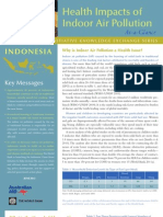 Indonesia - Health impacts of indoor air pollution