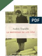 Trapiello Andres - La Brevedad de Los Dias