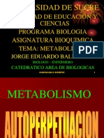 METABOLISMO 2008