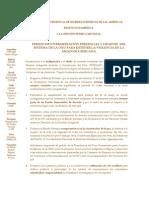 Pedido de intermediación presencial y urgente del sistema de la ONU - ECMI Sudamérica