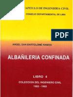 ALBAÑILERIA CONFINADA -ANGEL SAN BARTOLOME