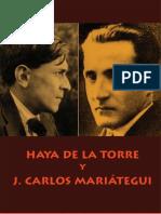 Haya de la Torre y J. Carlos Mariátegui