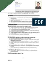 CV of Dr. Arifur Rabbi
