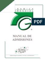 Manual Admisiones V008