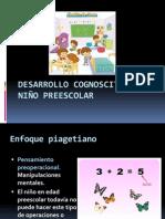 Desarrollo cognoscitivo del niño preescolar