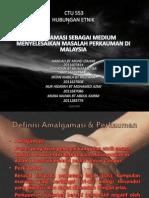 Definisi Amalgamasi & Perkauman