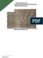 47) Cartela Rendada Lanofix em Lã industrial 2.28 Acrílico HB-nº 156