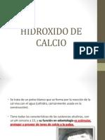 Hidroxido de Calcio