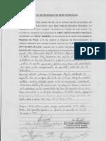Exp 1658-2011 Contencioso Acta de Diligencia de Reincorporacion de Gaby Judith Chavez Yarleque