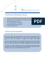 WEEKLY EQUTY REPORT BY EPIC RESEARCH - 25 JUNE  2012
