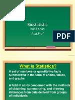 Bio Statistic