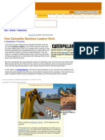 Caterpillar Backhoe Loaders Work