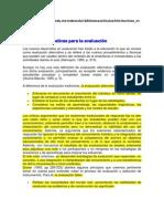 Técnicas Alternativas para la Evaluación Lopez e Hinojosa