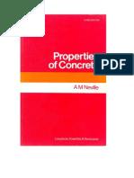 Properties of Concrete AM NEVILLE