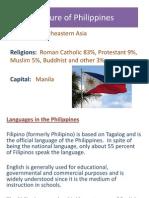 Phillipino Culture