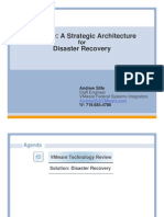 A Strategic Architecture for Disaster Recovery