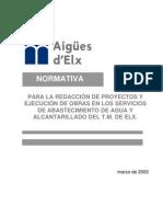 Normativa Tecnica Proyectos y Obras