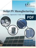 Solar PV Manufacturing