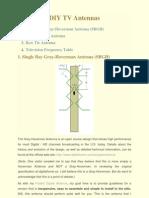 DIY TV Antennas