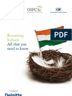 OIFC Deloitte Publication for Returning Indians
