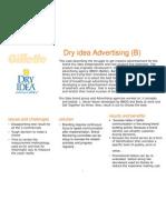 Dry Idea B Case Study Note