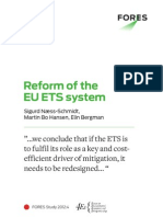 Reform of the EU ETS System - FORES Study 2012:4