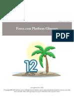 Force.com Platform Glossary